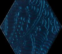 Urban Colours Blue Inserto Szklane Heksagon 17,1x19,8