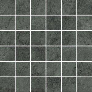 Opoczno Pietra Dark Grey Mosaic 29,7x29,7