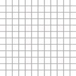 Paradyż Albir Bianco Mozaika 30x30 kostka 2,3x2,3