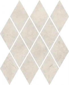 Paradyż Afternoon Silver Mozaika Romb Pillow 20,6x23,7