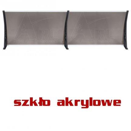 200x120 SZKLANY Daszek markiza modułowa