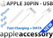 KABEL Apple Dock to USB iPhone 4 / 4S, iPad 3 / 2, iPod NEW