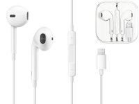Słuchawki Douszne Ear Pods Lightning do Apple iPhone 7 8 X Remote Mic