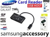 Card Reader +USB HOST Samsung Galaxy Tab 3 Czytnik SD