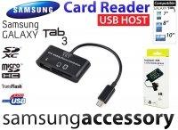 Card Reader +USB HOST Samsung Galaxy Tab 3 Czytnik SD