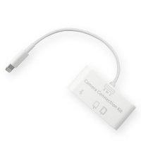 iPad Air Pro iPhone Camera Connection Kit USB SD Lightning iOS12