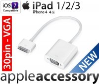 Przejściówka VGA Adapter Apple 30-pin iPad 2/3 iPhone 4S