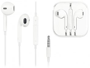 Słuchawki Douszne Ear Pods do Apple iPhone 5 Remote Mic