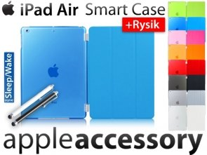 iPad Air Smart Cover +Back Etui +RYSIK Case