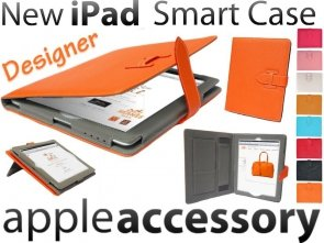 Designerskie Etui Cover iPad 2 3 4 Smart Case Skóra