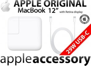 ORGINALNY Zasilacz APPLE MacBook 12 USB-C 29W USB Type-C + Kabel