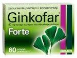 GINKOFAR Forte x 60 tabletek