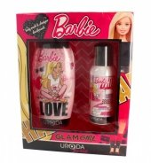 Uroda for Kids Zestaw prezentowy Barbie Glam Girl (dezodorant spray 150ml+żel pod prysznic 2w1 250ml)
