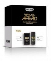 SAR*ZEST STR8/EDT50+DEO150/AHEAD