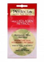 Perfecta Multi-Kolagen Retinol Maska na twarz,szyję i dekolt  8ml
