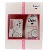 Dove Zestaw prezentowy Radiant Beauty (mydło kostka Coconut Milk 100g+ żel pod prysznic Purely Pampering 250ml)
