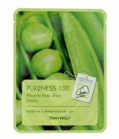 TONY MOLY PURENESS 100 Placenta roślinna Maska płachta 21ml
