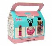 Uroda for Kids Zestaw prezentowy Barbie Fashionistas (żel pod prysznic 2w1 150ml+perfumka 50ml+pomadka ochronna)