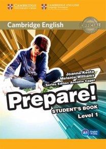Cambridge English Prepare! 1 Student's Book