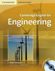 Cambridge English for Engineering Student's Book + CD
