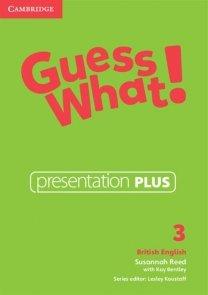 Guess What! 3 Presentation Plus DVD