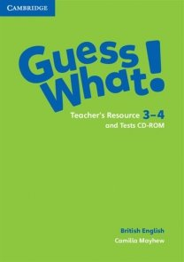 Guess What! 3-4 Teacher's Resource and Tests CD