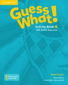 Guess What! 6 Activity Book with Online Resources