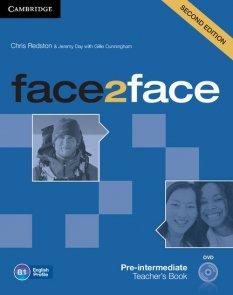 face2face Pre-intermediate Teacher's Book with DVD