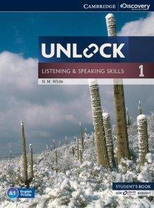 Unlock 1 Listening and Speaking Skills Student's Book with online workbook