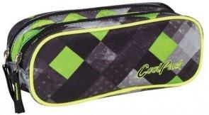 Saszetka podwójna prostokątna CoolPack Clever Grunge Grey