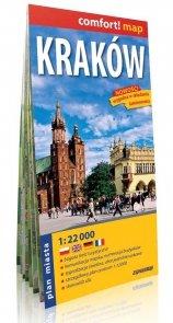 Kraków plan miasta 1:22 000