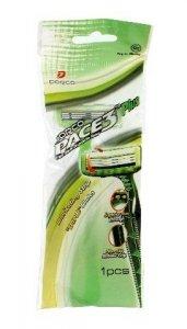 Dorco Pace 3 Plus Green Tea Maszynka jednorazowa męska - 3 ostrza  1szt