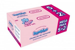 NIVEA*BAMBINO Chusteczki 5+2 &