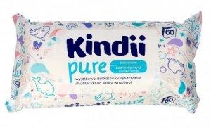 Kindii Pure Chusteczki oczyszczające dla niemowląt z aloesem  1op.-60szt