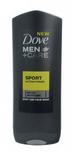 Dove Men+Care Żel do mycia twarzy i ciała Sport Active+Fresh  400ml