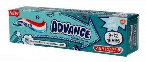 Aquafresh Advance Pasta dla dzieci 9-12 lat  75ml