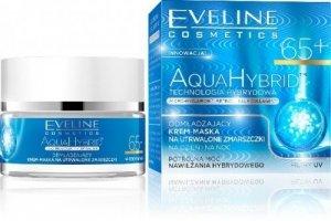 Eveline Aqua Collagen Krem 65+ na dzień i noc odmładzający 50ml
