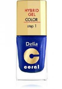 Delia Cosmetics Coral Hybrid Gel Emalia do paznokci nr 29 11ml