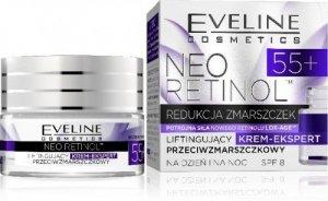 Eveline Neo Retinol 55+ Krem liftingujący na dzień i noc  50ml