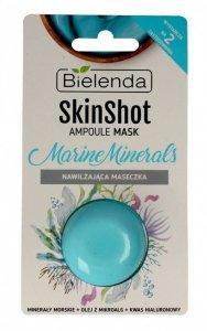 Bielenda Skin Shot Maseczka nawilżająca na twarz Marine Minerals  8g