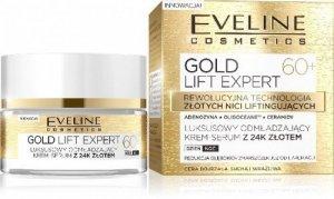 Eveline Gold Lift Expert 60+ Krem-serum odmładzający na dzień i noc  50ml