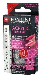Eveline Nail Therapy Lakier - Top Coat Acrylic  12ml