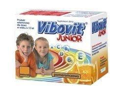 VIBOVIT Junior x 30 saszetek - pomarańczowy