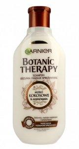 Garnier Botanic Therapy Mleko Kokosowe & Makadamia Szampon do włosów suchych i bez spężystości  400ml
