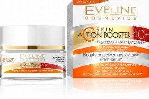 Eveline Expert C 40+ Krem-serum przeciwzmarszkowy Redukcja przebarwień na dzień i noc  50ml