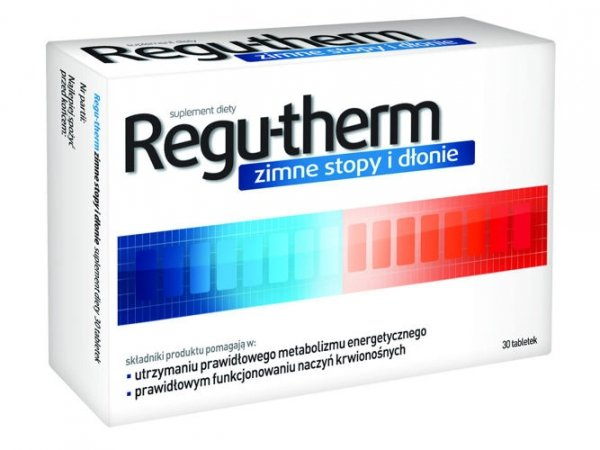 REGU-THERM zimne stopy i dłonie x 30 tabletek