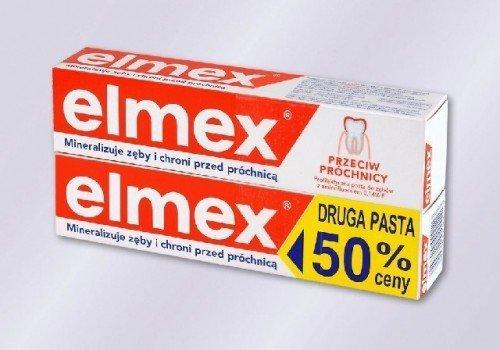 Elmex Pasta do zebow + druga za 50% ceny