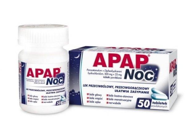 APAP Noc x 50 tabletki
