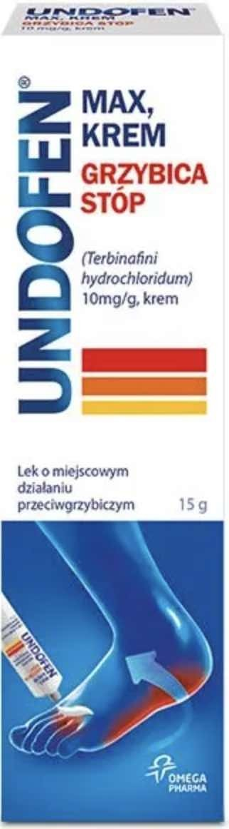 UNDOFEN Max 10mg/g krem 15g
