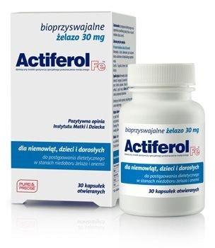 ACTIFEROL Fe 0,03g x 30 kapsułek
